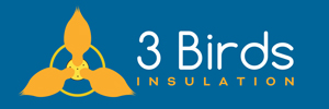 3 Birds Insulation Logo